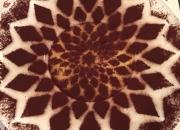 il nostro tiramisu ispirato al rosone del Duomo di Orvieto